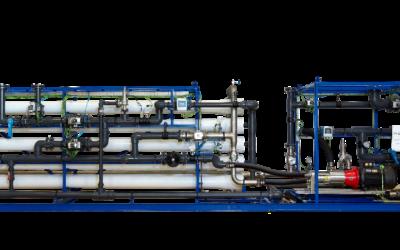 Planta de desalinización y potabilización para complejo hotelero