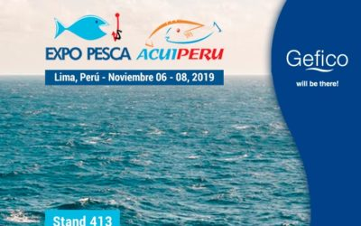 Gefico Expone en Expo Pesca & Aquiperu