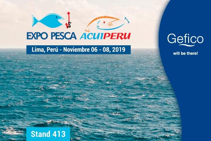 Gefico exhibits at Expo PESCA & ACUIPERU