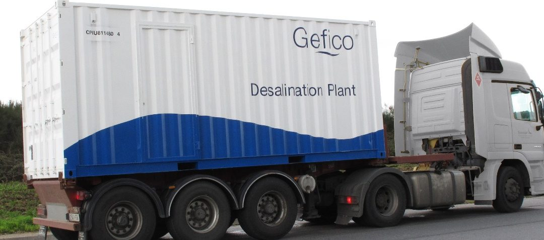 Containerised plants