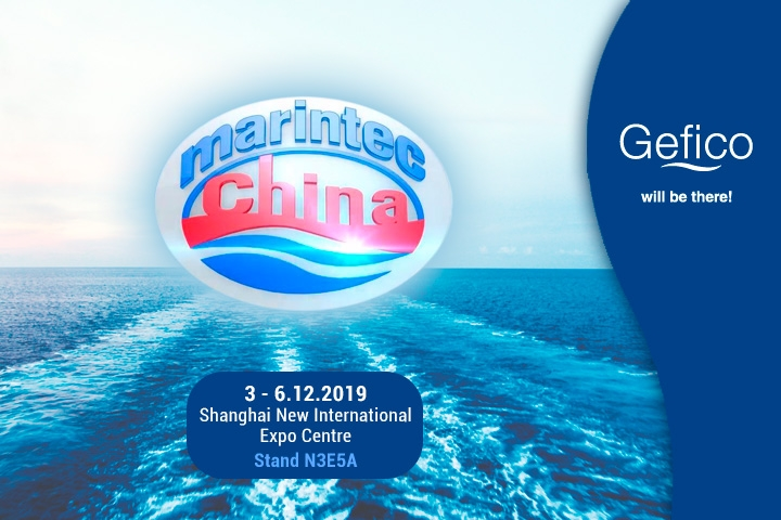Gefico takes part in Marintec 2019 as exhibitor