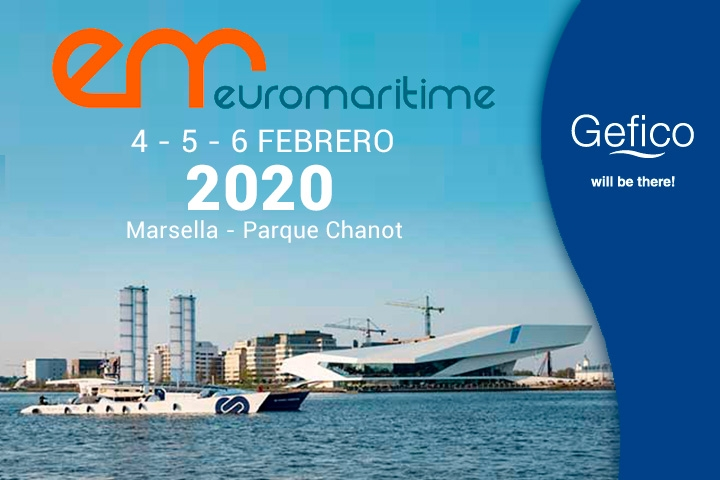 Gefico Will Be Present At The Euromaritime 2020