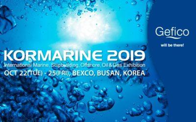 Gefico asiste en Korea del Sur a Kormarine 2019