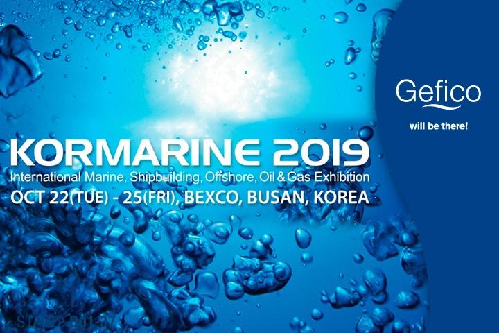Gefico attends KORMARINE 2019 in South Korea